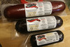 Silver Creek Venison Summer Sausage available in 8 oz,  1 lbs, and 2 lbs.