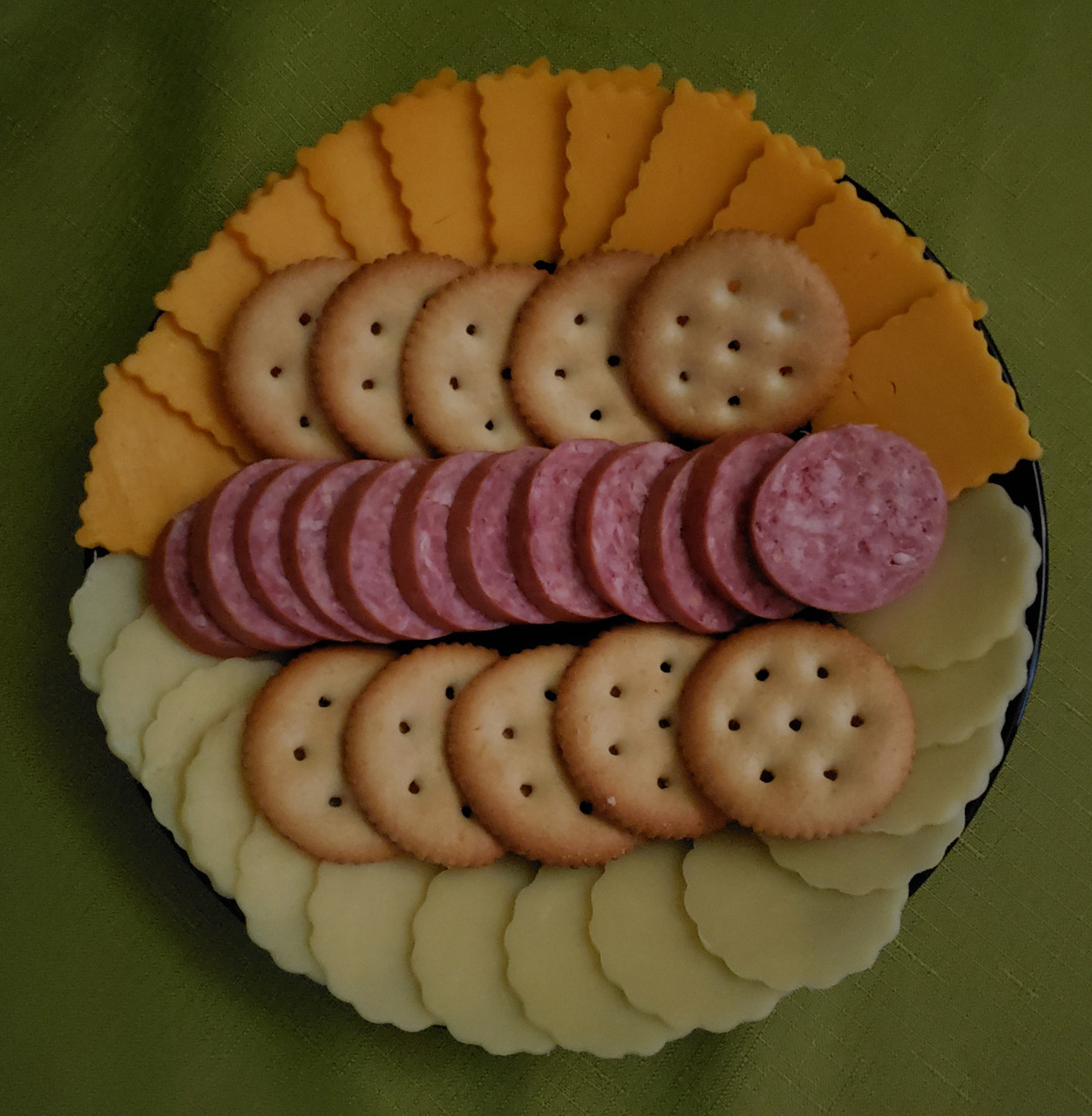 Enjoy as appetizer with cheese and crackers.