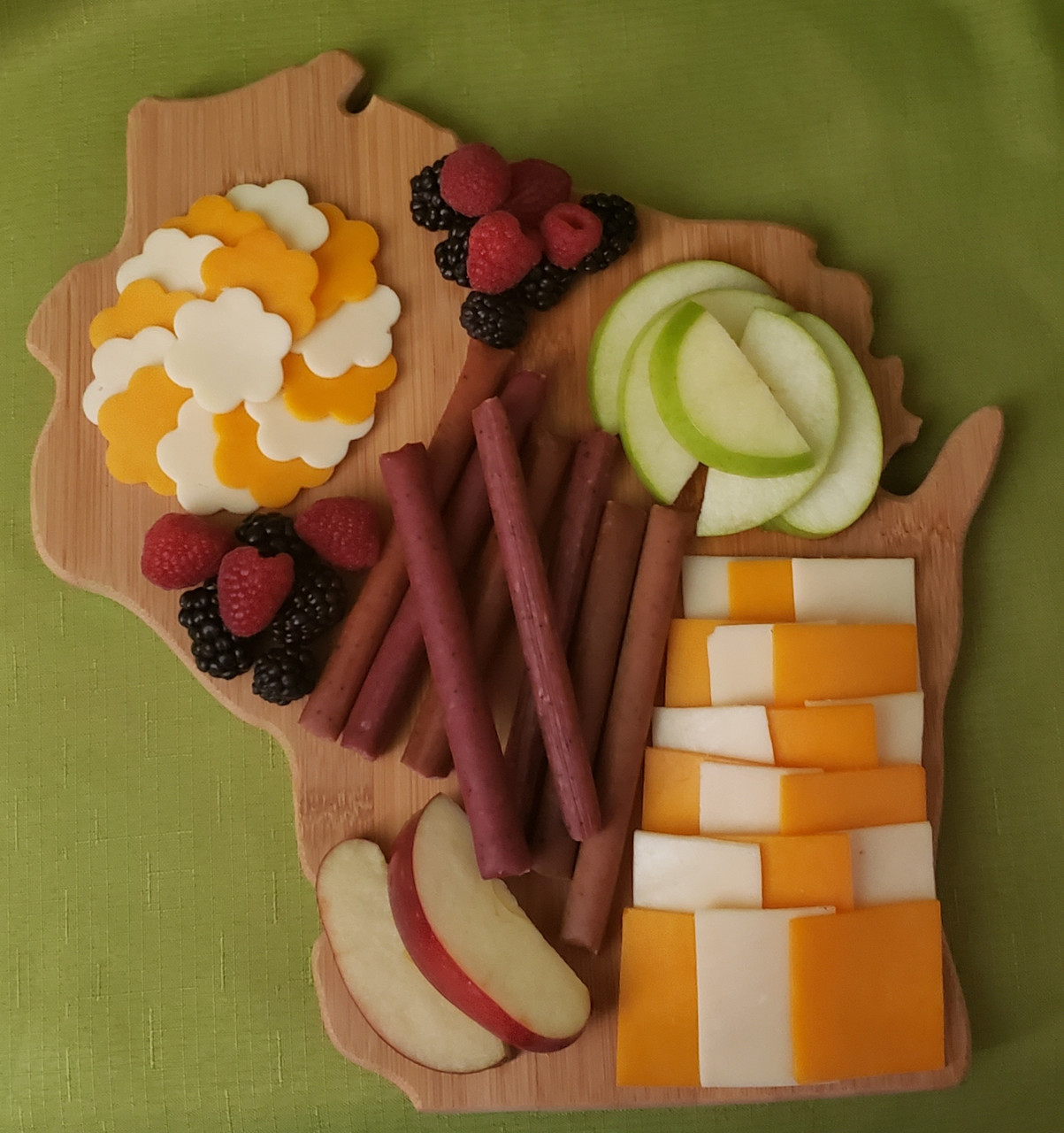 Cheese and meat stick board