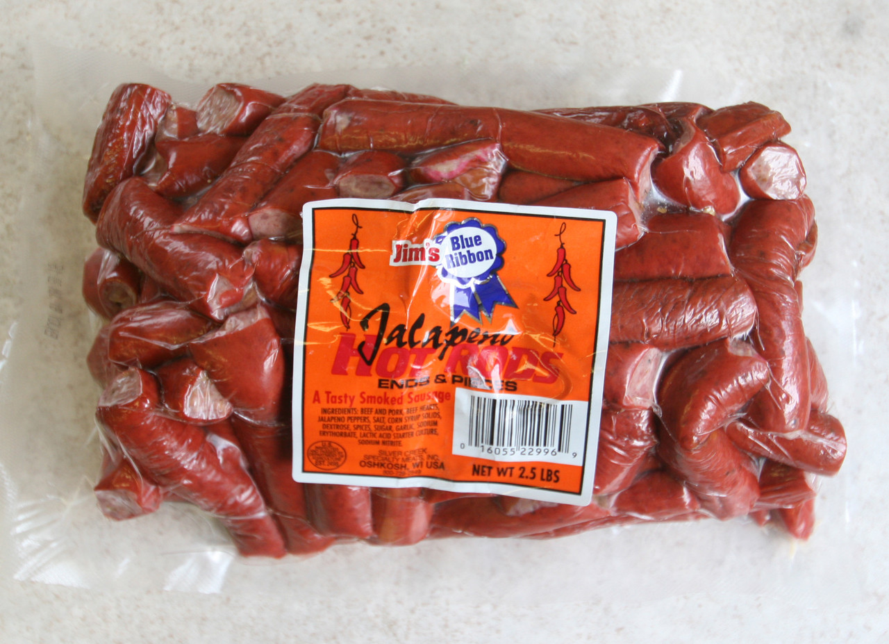 Jim's Blue Ribbon Jalapeno Hot Sticks Ends & Pcs