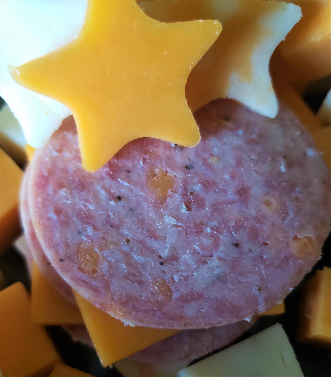 Beer & Cheese Summer Sausage