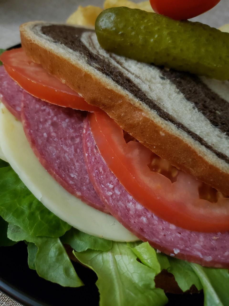 Busch Beef Summer Sausage Slicer 7.8 lb whole