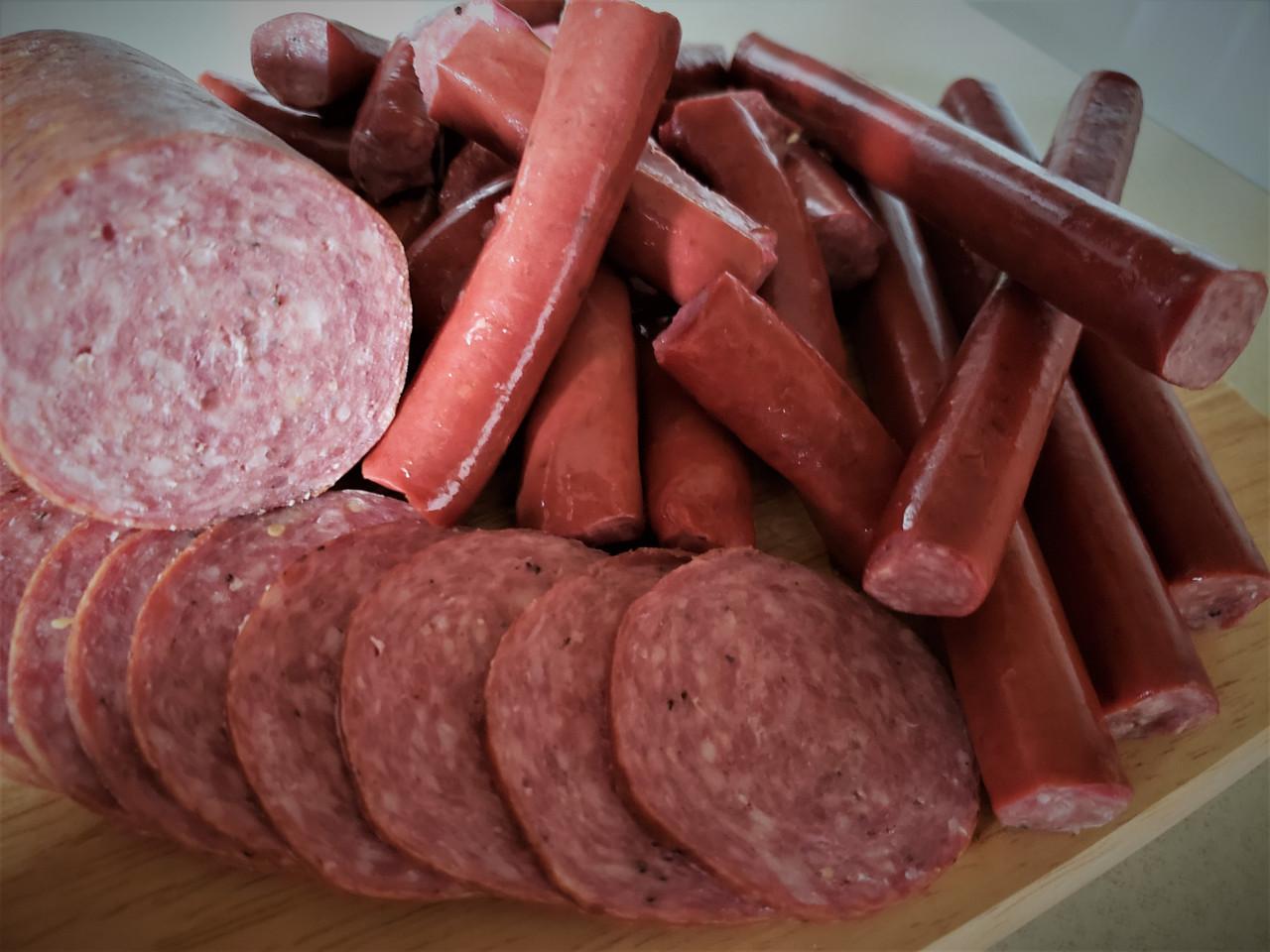 Buffalo Snack Sticks with pork & beef 7 oz.