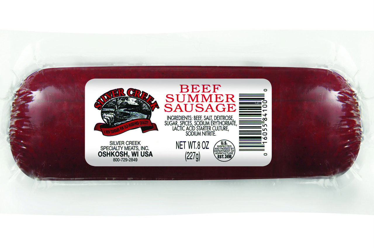 Silver Creek 8oz Beef Summer Sausage