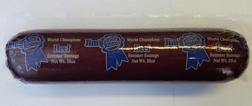 Award winning Jim's Blue Ribbon Beef variety 28 oz.