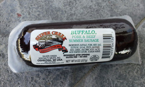 Buffalo Summer Sausage, 8 oz