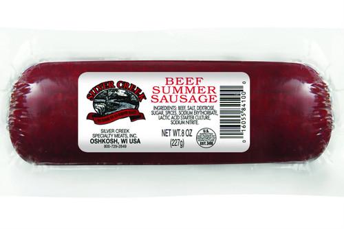 Silver Creek 8oz Beef Summer Sausage