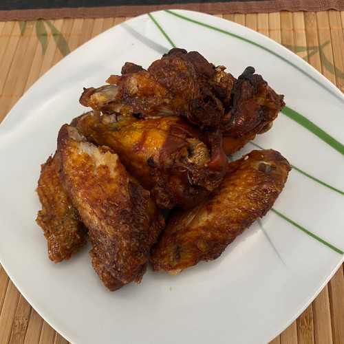 8 Deep Fried Chciken Wings