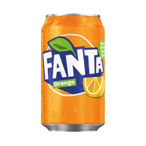 Can of Fanta Orange 330ml
