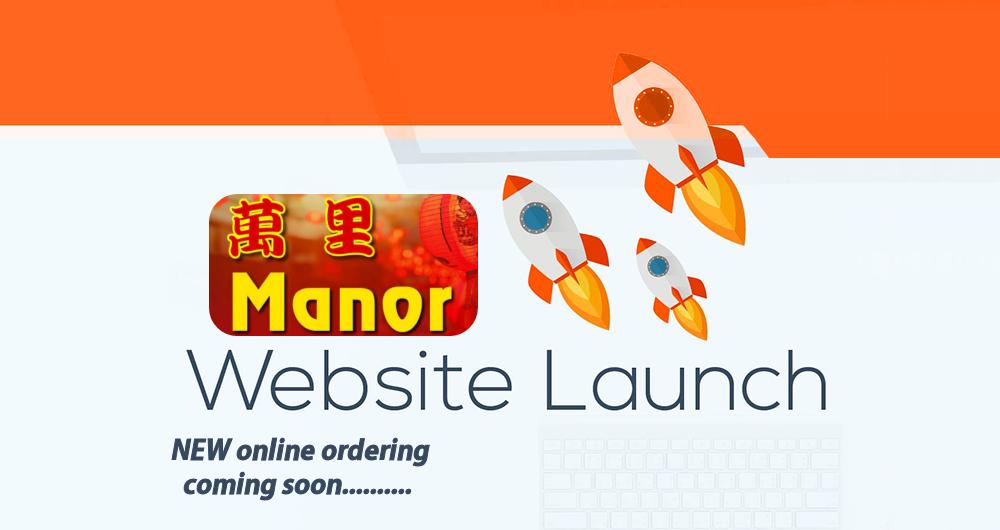 Manor Fish Bar NEW online ordering website coming soon.....