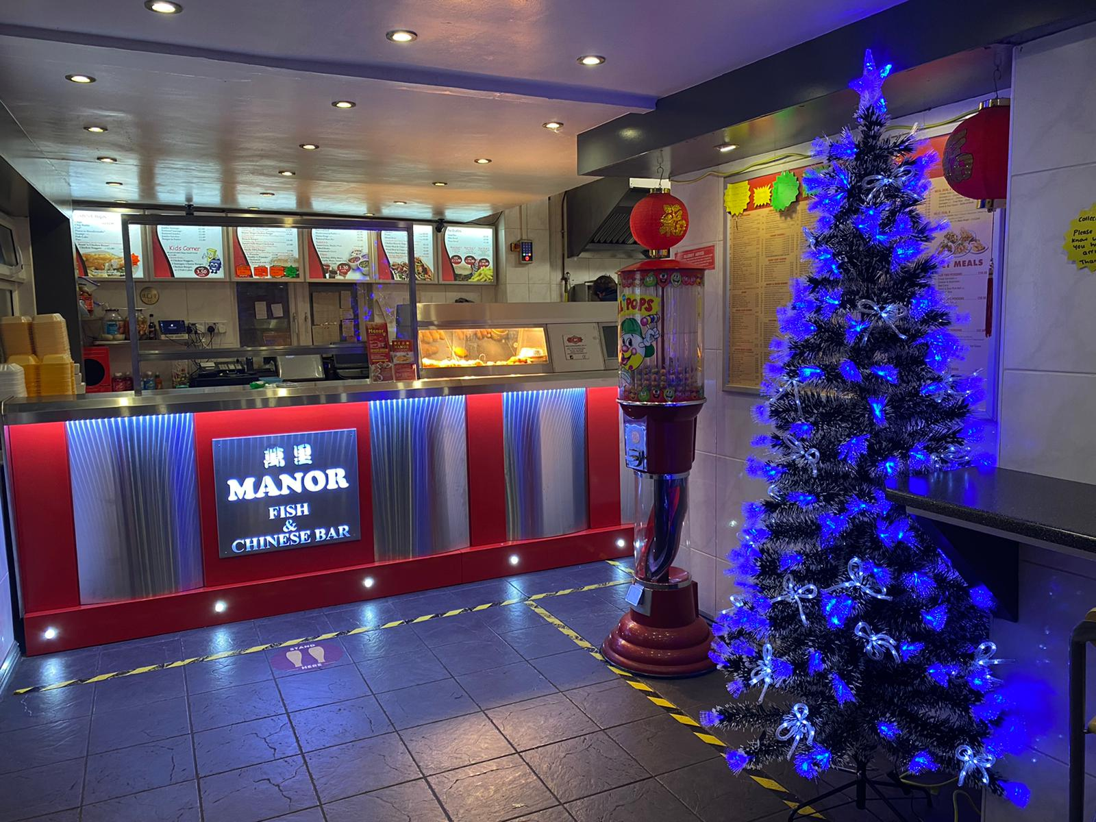 Christmas in Store at the Manor Fish Bar