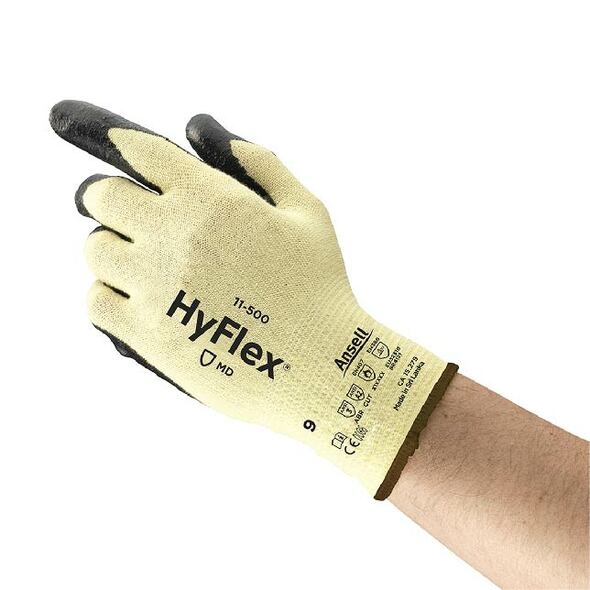 ANSELL  HyFlex Kevlar Cut Resistant Gloves Foam Nitrile Coated Palm (A2)
