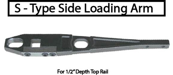 International 512 ANSI Grade 1 Adjustable 5lb.+ ADA OH Closer Kit - Side Arm - 90 HO