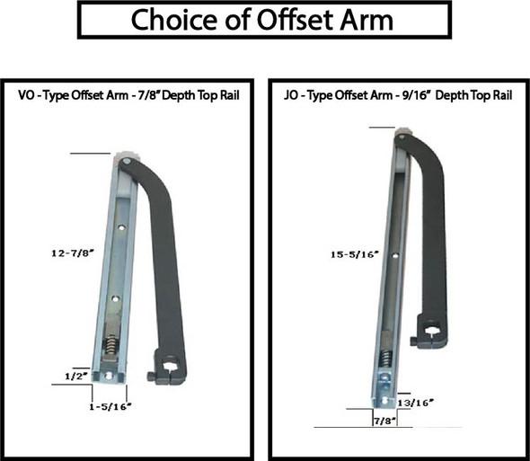 Offset Arm 90 NHO