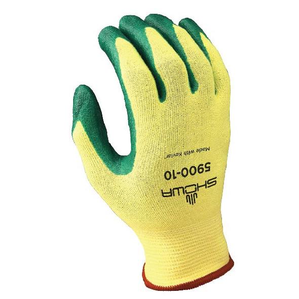 SHOWA 15 Gauge DuPont Kevlar & Lycra Cut Resistant Gloves W/Nitrile Coating (A3)