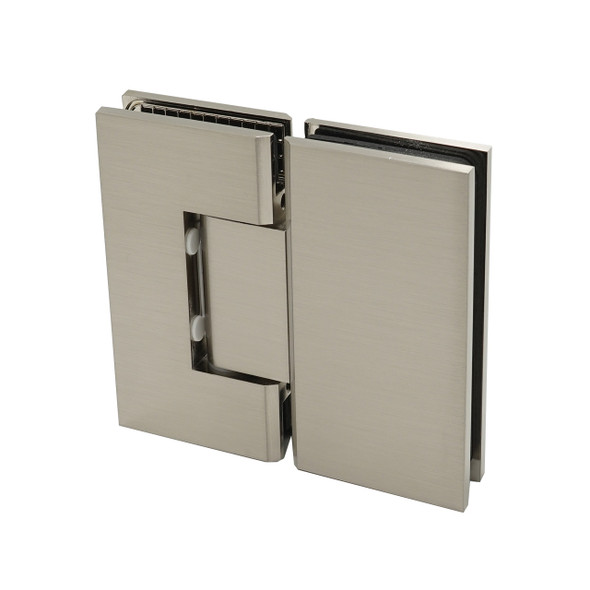 Brushed Nickel American Classic 180 Degree Glass To Glass Shower Door Hinge