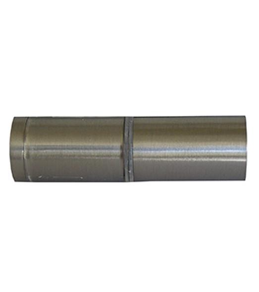 Brushed Nickel Back to Back Cylinder Shower Door Knob with Cushion