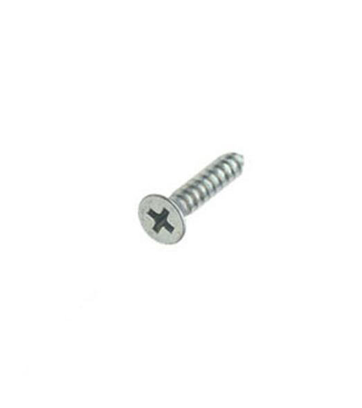 "#10 X 1"" Flat Head Phillips Sheet Metal Screws - 100 Pack"