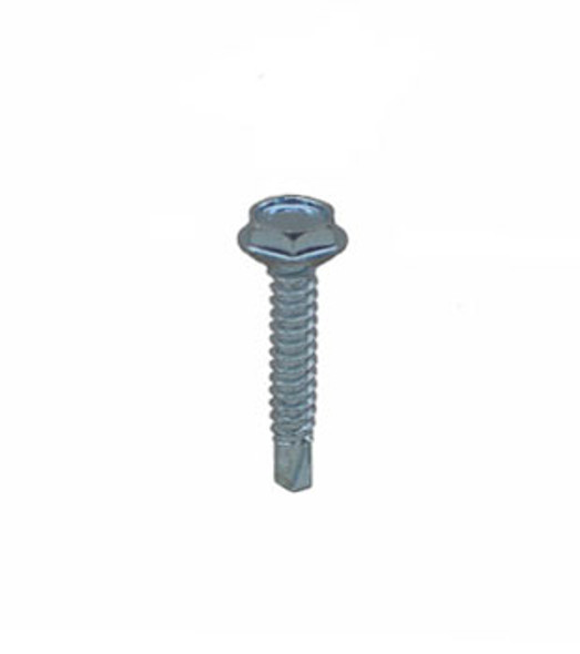 "#10 X 1"" Self Tapping/Drilling Hex Washer Head Screws - 100 Pack"