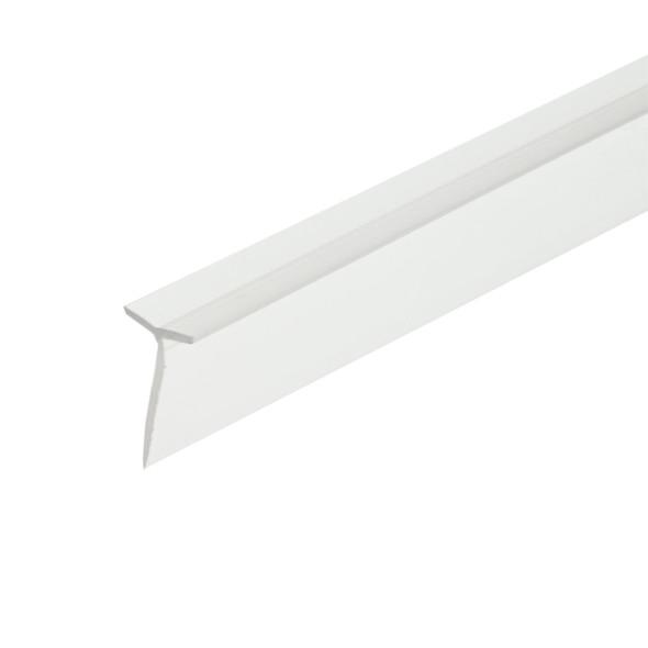 "Clear ""T"" Wipe Shower Door Seal - 98"" Long"