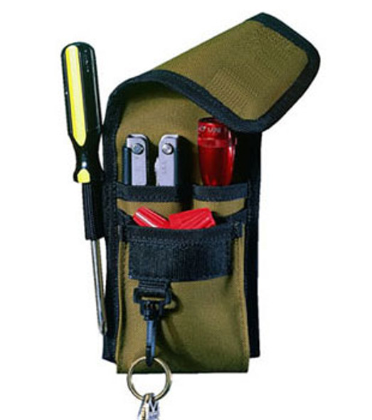 Custom LeatherCraft 1104 4 Pocket Multi-Purpose Tool Holder