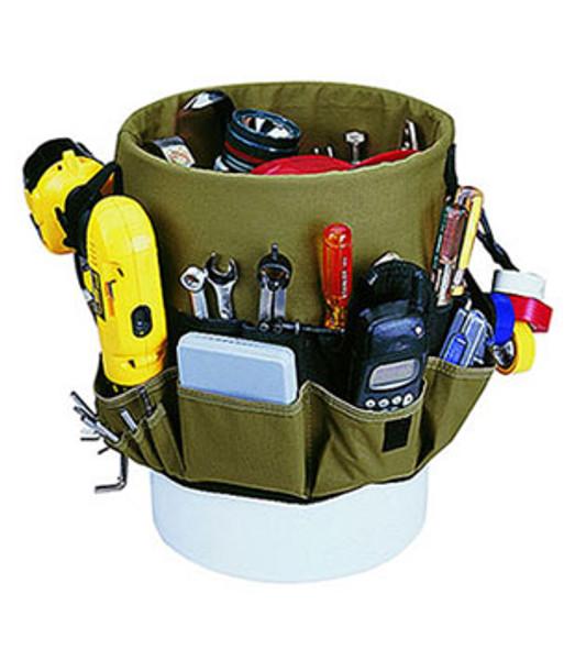 Custom LeatherCraft 1119 48 Pocket Bucket Organizer