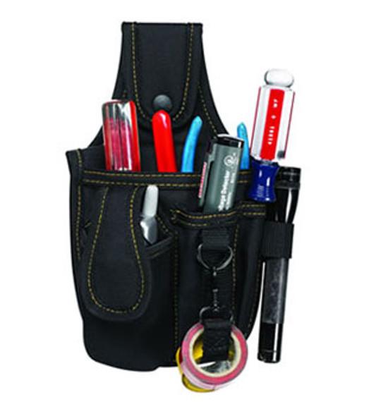 Custom LeatherCraft 1501 5 Pocket Tool and Cell Phone Holder
