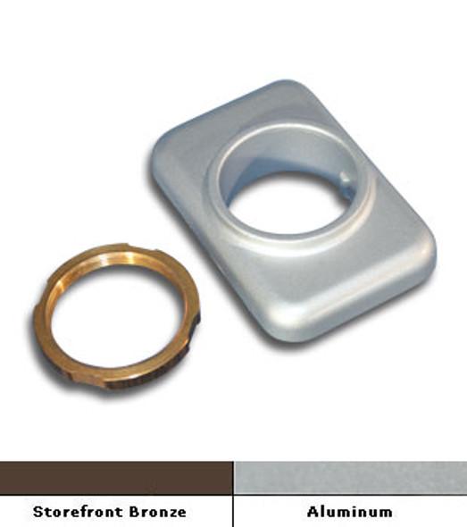 Cylinder Mounting Pad For International CVR Panic Hardware
