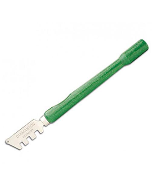 Diamantor Green Wood Handle Glass Cutter