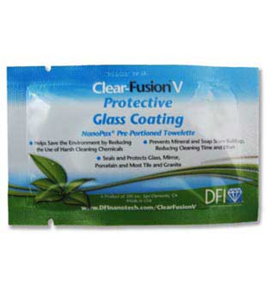 Diamon Fusion Clear-Fusion V Protective Coating NanoPax Towelette