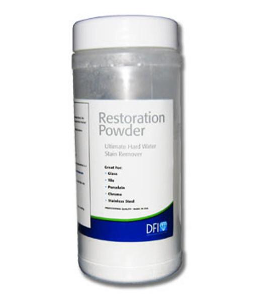 Diamon Fusion Glass Hard Water Stain Remover Restoration Powder 5 oz.