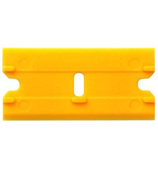 Double Edge Plastic Razor Blades 100 Pack