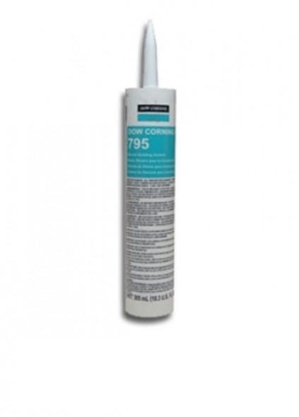 Dow Corning 795 Silicone Glass Glazing Sealant - White