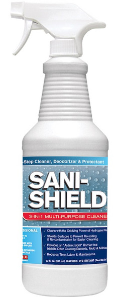 Eliminate Sani-Shield 3-in-1 Glass & Surface Care 32oz.