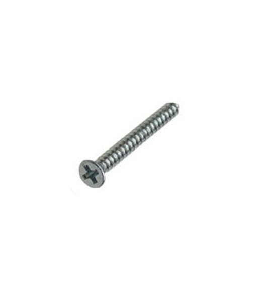 "#6 X 1-1/4"" Flat Head Phillips Sheet Metal Screws - 100 Pack"