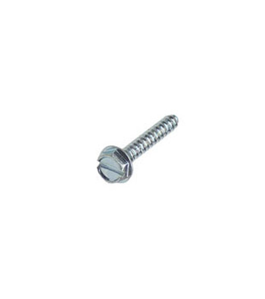 """#6 X 3/4"""" Hex Washer Head Slotted Sheet Metal Screws - 100 Pack"""