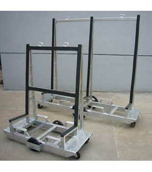 "Groves 48"" x 42"" Six Wheeled Fabrication Cart"