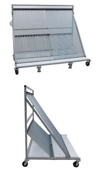 """Groves 48"""" x 80"""" Harp Rack Cart"""