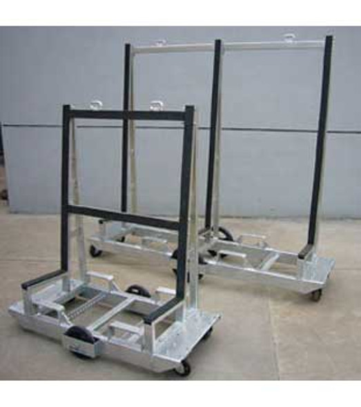 "Groves 82"" x 60"" Six Wheeled Fabrication Cart"