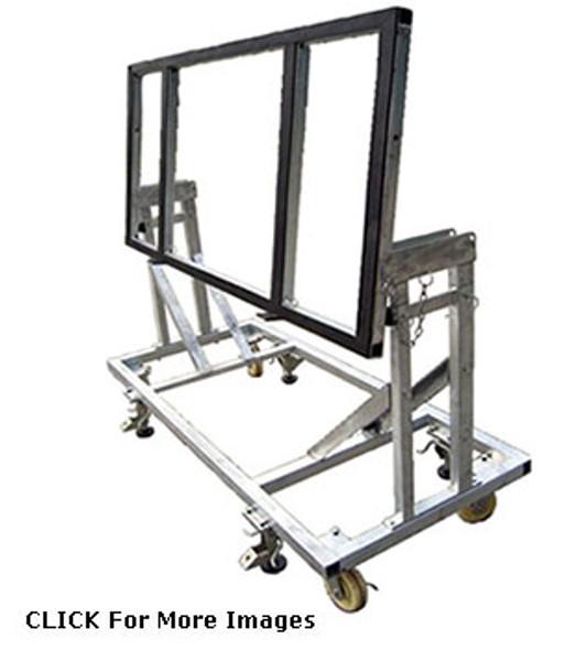 Groves Glass or Stone Tilt Table Cart