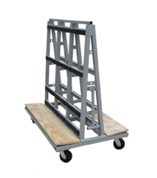 """Groves GLC Glass Cart 54"""" x 32"""" with Pull Handle"""