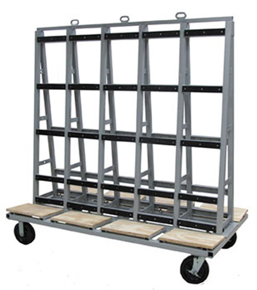 "Groves GLC Glass Cart 72"" x 40"""