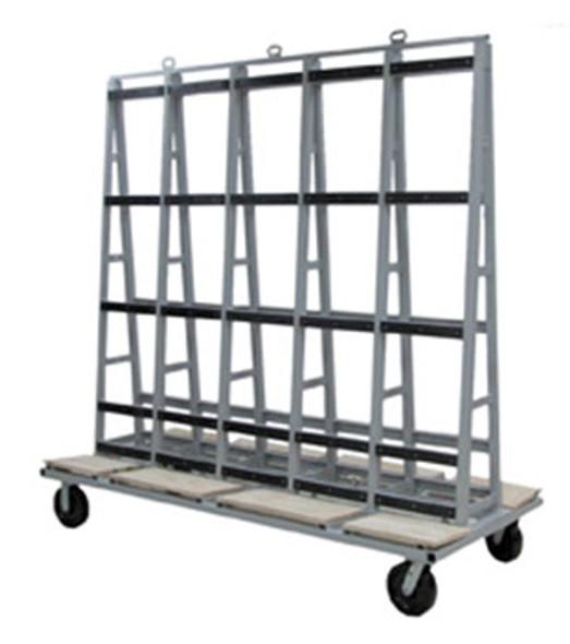 "Groves GLC Glass Cart 84"" x 40"""