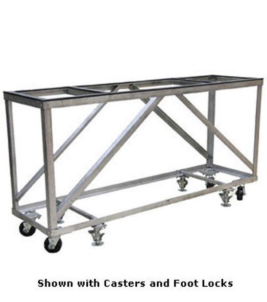 Groves Heavy Duty Fabrication Table with Casters and Foot Locks