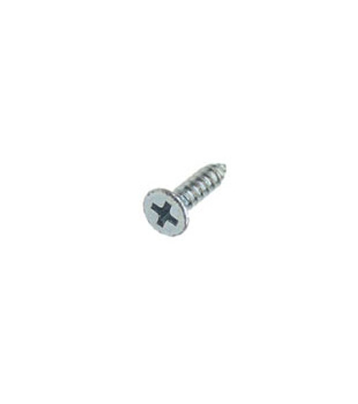 "#8 X 3/4"" Flat Head Phillips Sheet Metal Screws - 100 Pack"