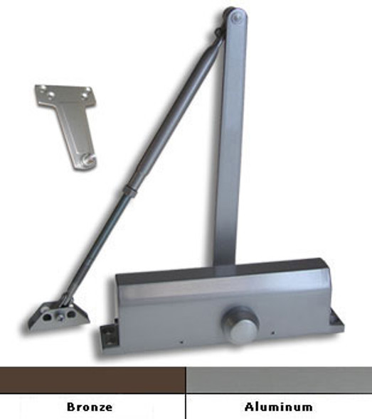 International 1802 Grade 1 Surface Mount Door Closer Size 2