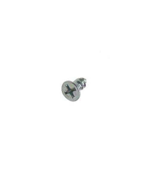 "#8 X 3/8""  Flat Head Phillips Sheet Metal Screws - 100 Pack"