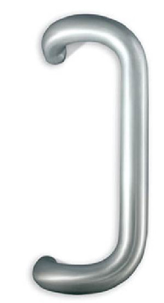 "International 12"" Solid Aluminum Offset Pull Handle For Storefront Door"