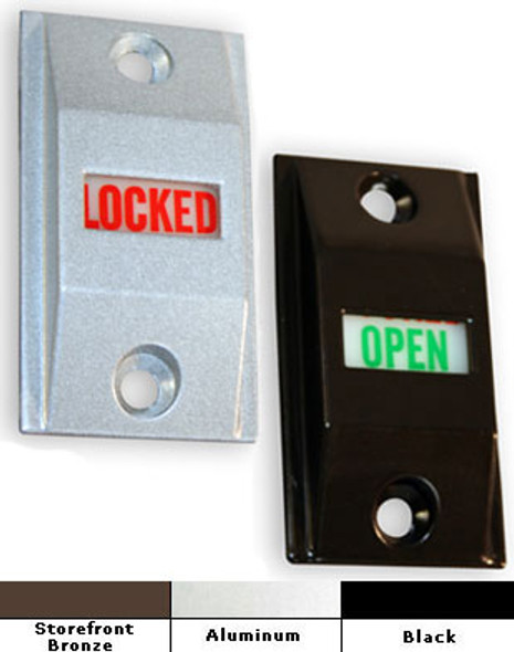 International Commercial Storefront Door Lock Indicator Set - LI 4089