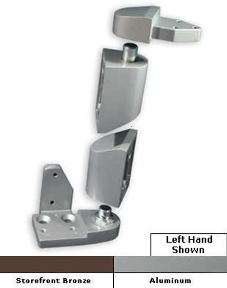 International Commercial Storefront Door Offset Pivot Set LH - OP-6001